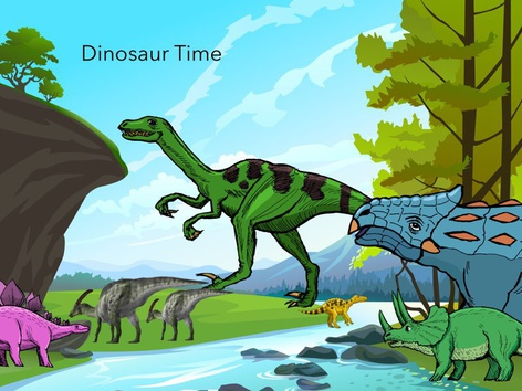 Dinosaur Time  by Carla Taylor
