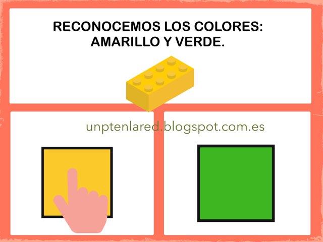 Reconocemos Los Colores: Amarillo Y Verde. by Jose Sanchez Ureña