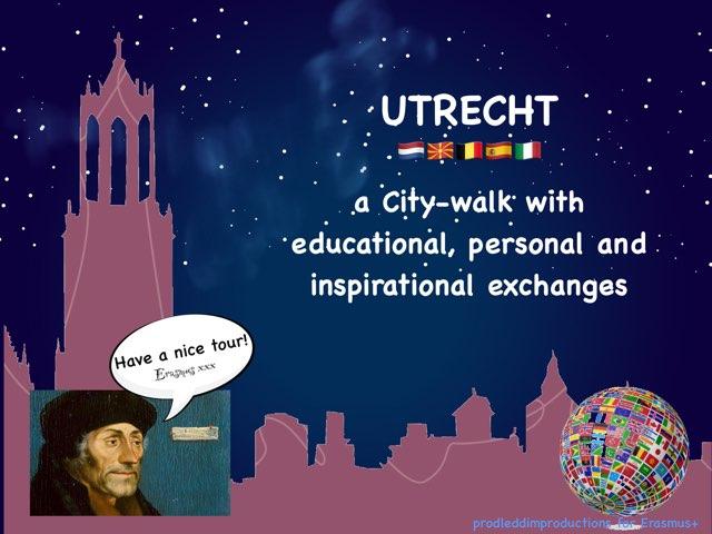 Teachers City Walk Utrecht by Caspar Middeldorp