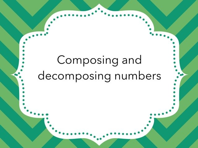 Composing And Decomposing  by Kirsten Re