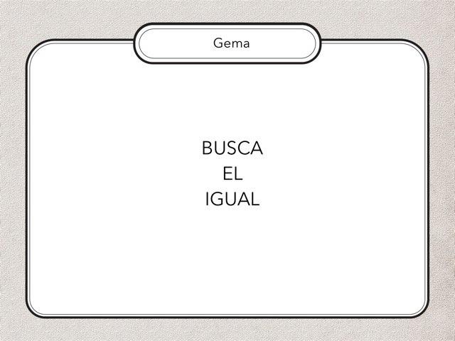 Busca El Igual (2) by Zoila Masaveu