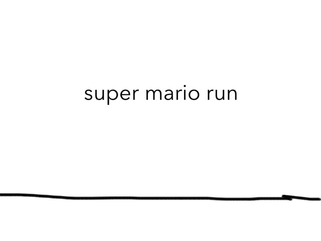 Super mario run danny z by danny zoetemeijer