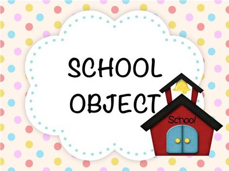 SCHOOL OBJECT  by Lisa Gazzotti