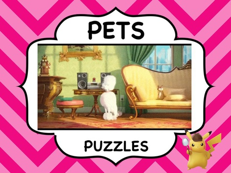 PETS - Puzzles by ShowAnd Text