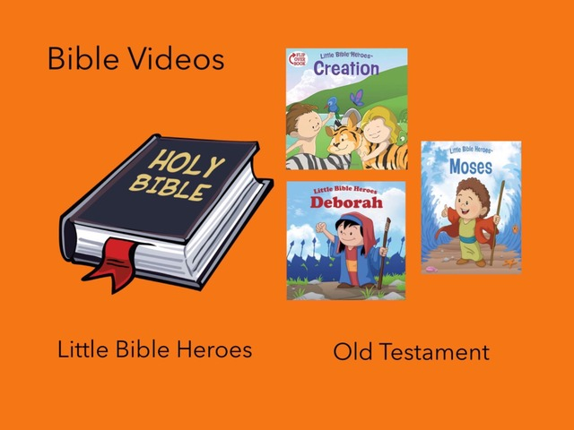 Bible Videos: Little Bible Heroes (O.T.) by Carol Smith