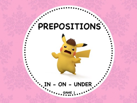Prepositions - Multiple Choice by ShowAnd Text