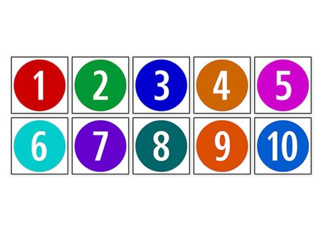 מספרים וצבעים by לילך שולם בן חיים