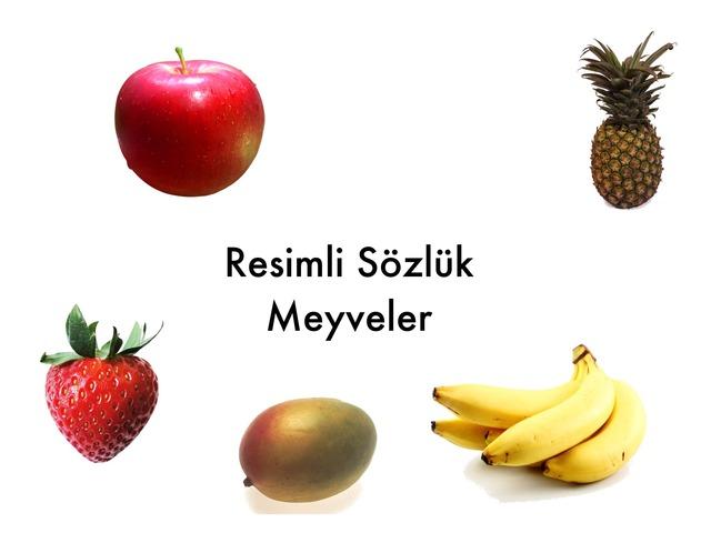 Resimli Sözlük-Meyveler by Hadi  Oyna