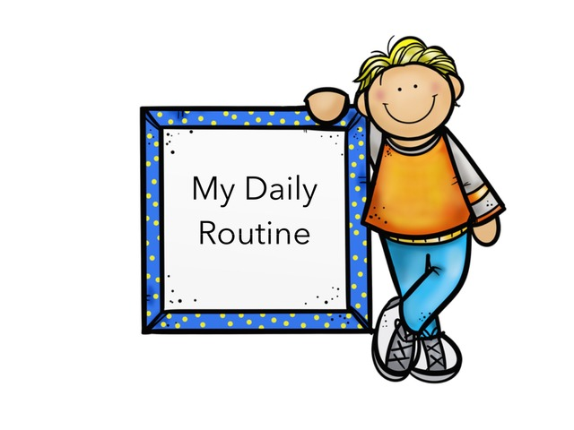 Daily Routine by heba abdou