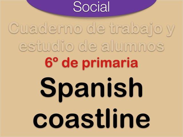 Spanish Coastline by Elysia Edu