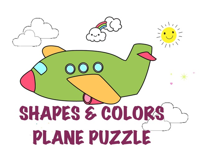 Shapes&Colors Plane Puzzle by Hadi  Oyna
