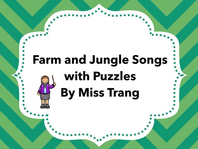 Farm And Jungle Animals Practice  by Trang Quỳnh