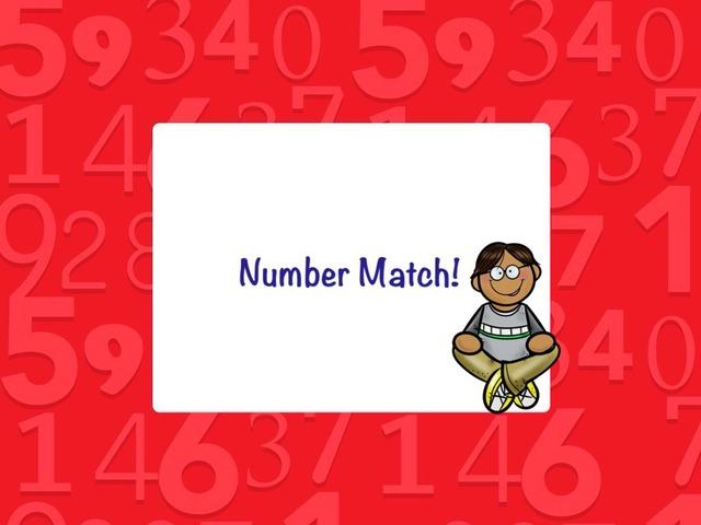 Number Match by Jennifer Cunningham