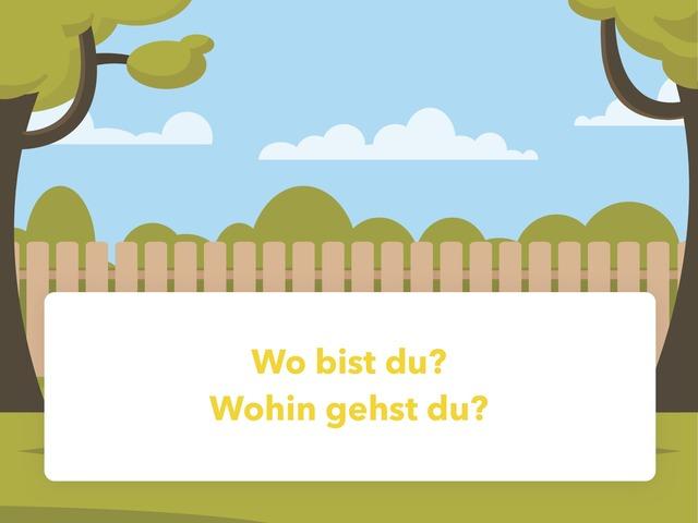 Wo Und Wohin  by Nadja Blust