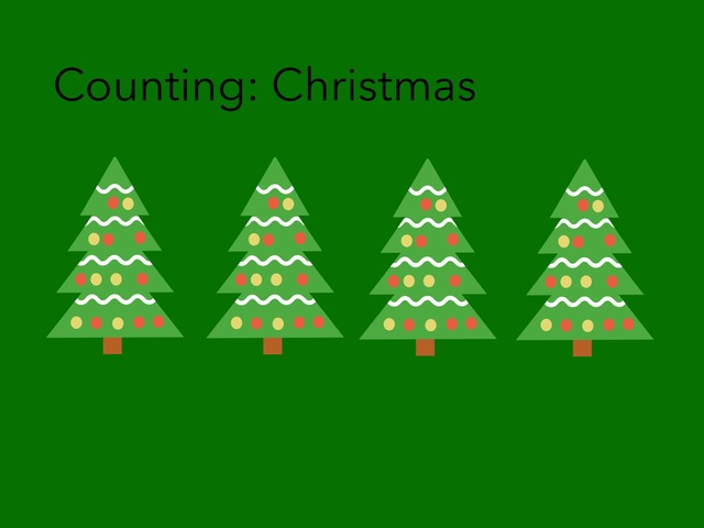 Counting: Christmas  by Carol Smith