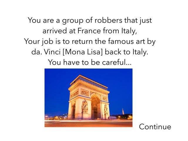 Mona Lisa Is Missing!!! by 3NM iPad
