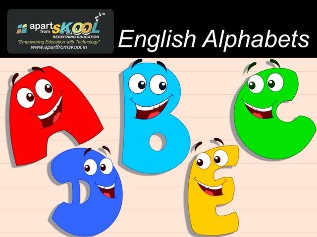 English Alphabet  by TinyTap creator