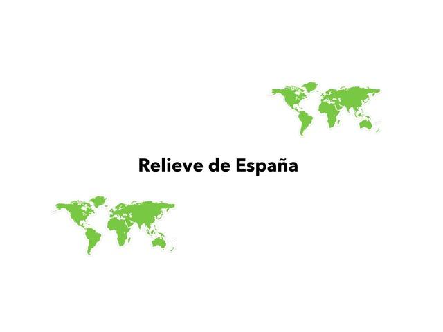 Relieve de España by Valeria Villanueva Del Arco