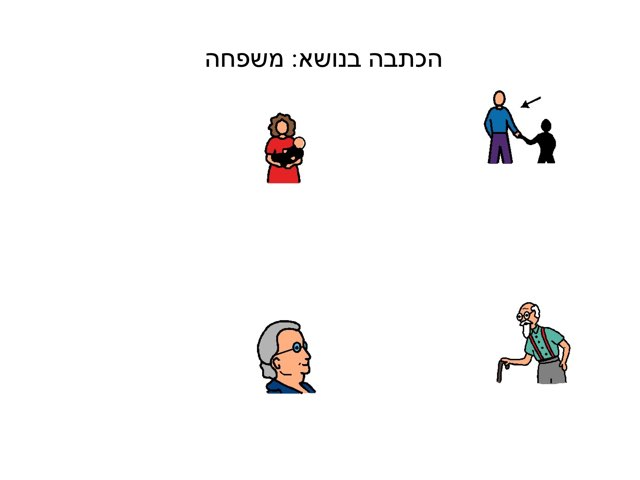 הכתבה משפחה by צפנת הלוי