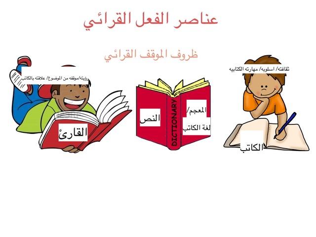 عناصر الفعل القرائي زينب  by zainab