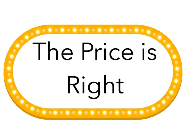 The Price Is Right by Julie Saadatmand