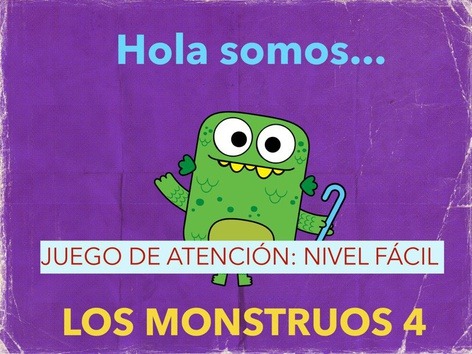 Los Monstruos Actividad 4. by Jose Sanchez Ureña