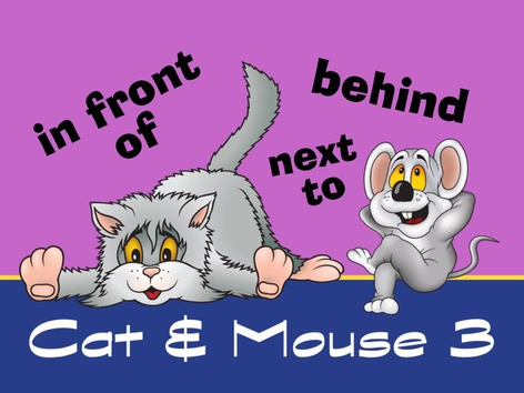 Cat & Mouse 3 - Prepositions by Cici Lampe