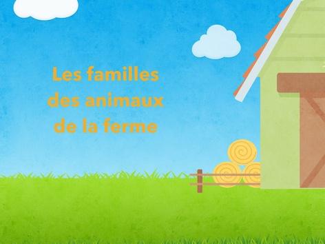 Les Familles Des Animaux De La Ferme by Vv Vlto