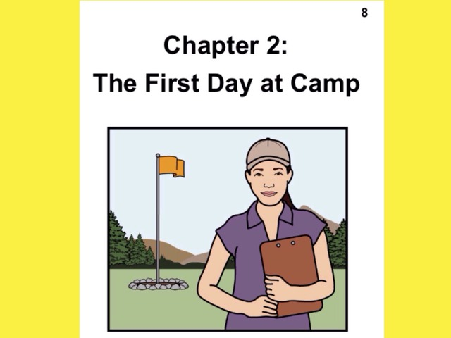 Unique Summer Unit Chapter 2: The First Day at Camp  by Tanya Folmsbee