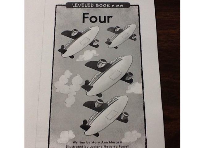 Four by Sarah Severance