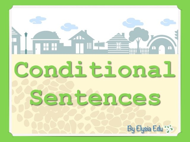 Conditional Sentences by Fran Sarrión