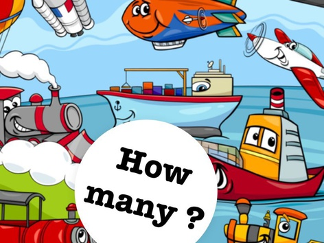 How Many? Fun Counting Game by Yam Goddard
