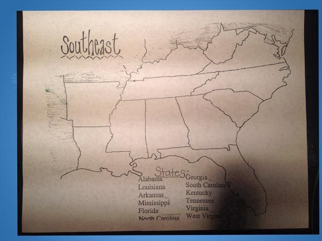 Southeast Region by Jeremy Trautlein