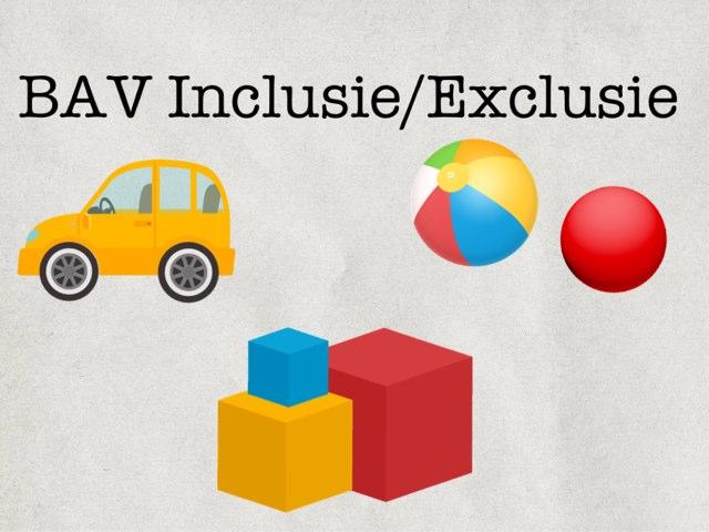 BAV Inclusie/Exclusie by Logopedie Noord