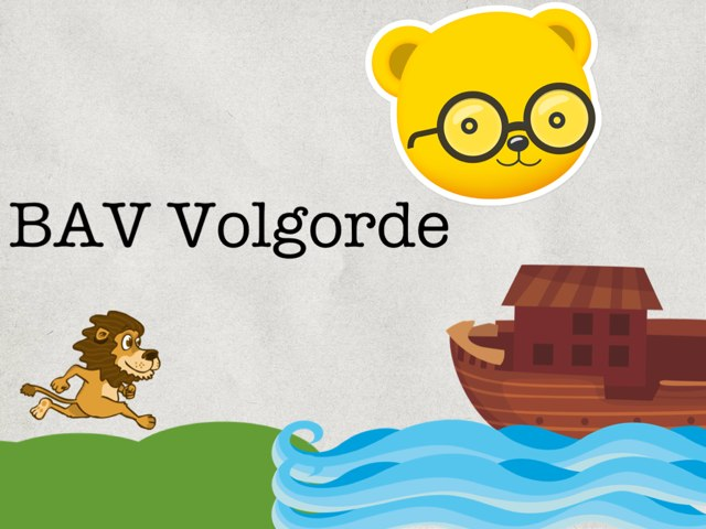BAV Volgorde by Logopedie Noord