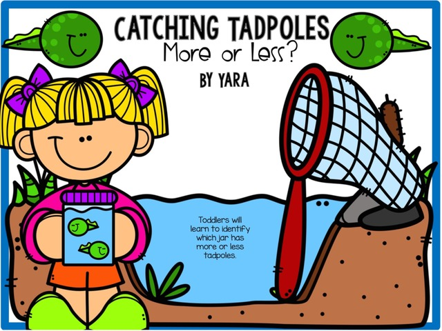 Catching Tadpoles - More Or Less? Counting by Yara Habanbou