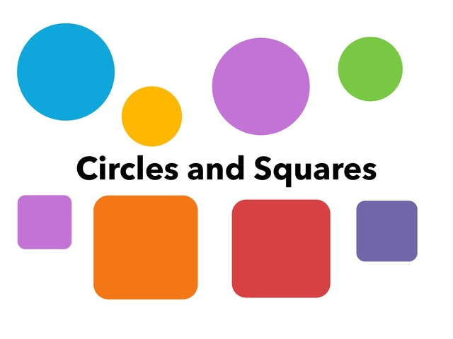 Circles And Squares by Lori Board