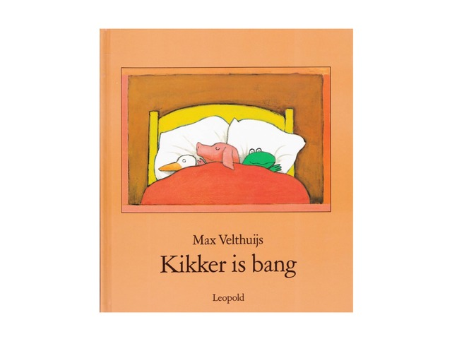 Kikker is bang by Ria Witte