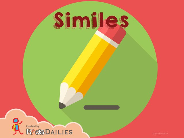 Similes by Kids Dailies
