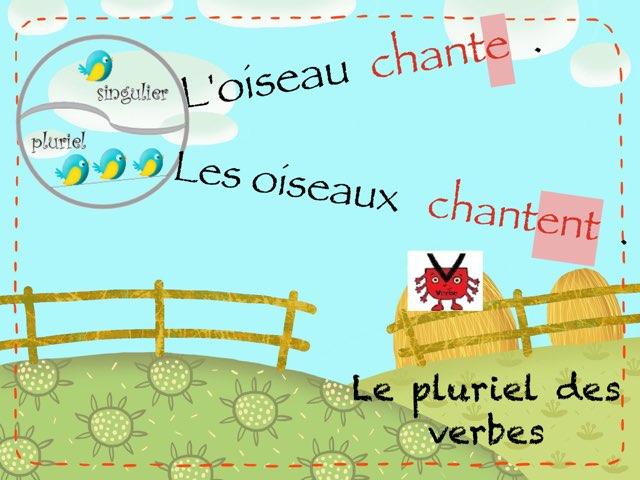 Le Pluriel Des Verbes  by Marie S