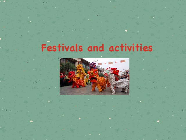 Festivals by Hh Y