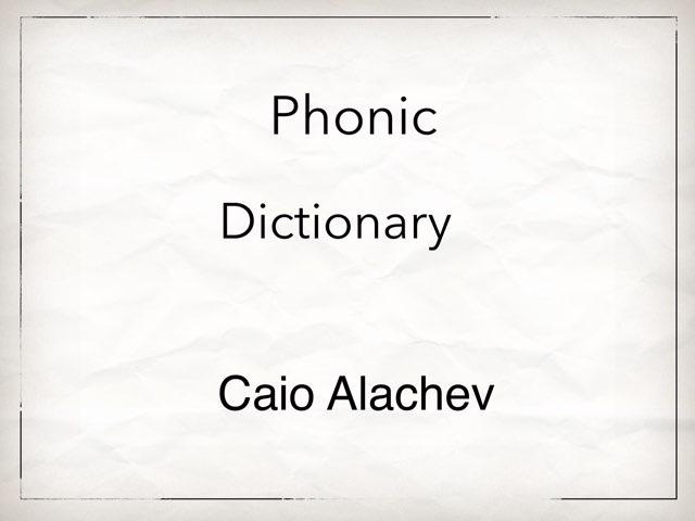 Caio Alachev by Lively Bird Uirapuru