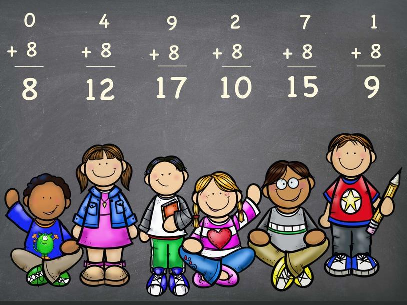 Adding 8's by Cindy Derienzo