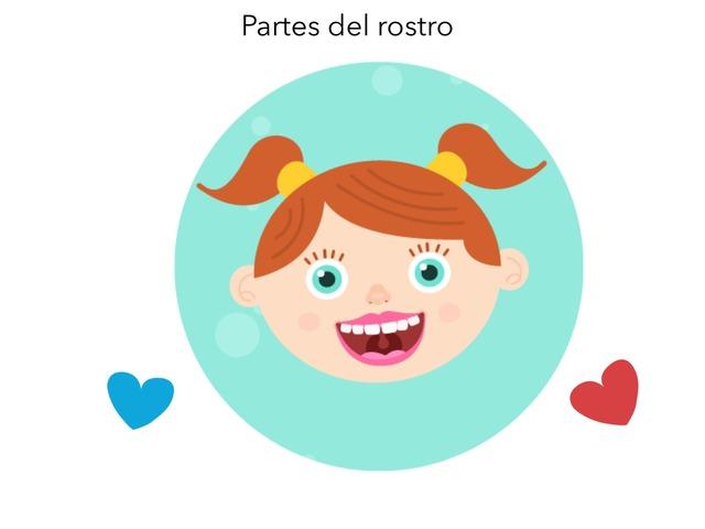 Partes Del Rostro  by TinyTap creator