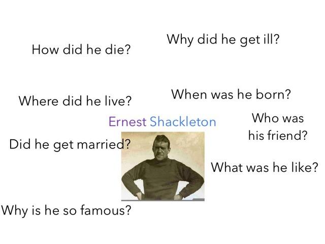Ernest Shackleton game by Birdwell Year2