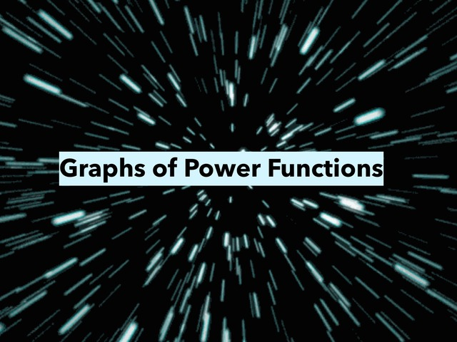Graphs of Power Functions by Azean Khamis