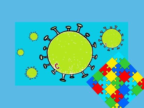Puzzel Thema Corona by Bieke Santy