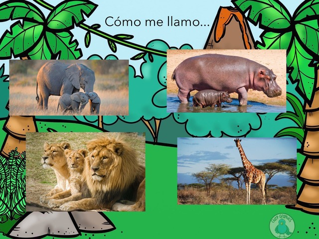 Animales De África  by Patricia Elvira lindo
