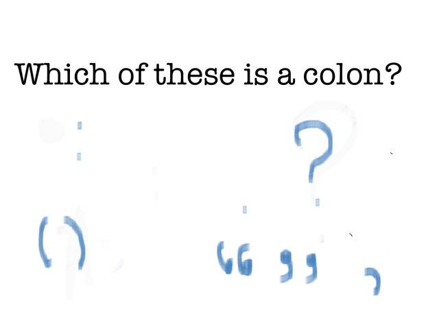 BBLJH Punctuation by Krystal Wiggins