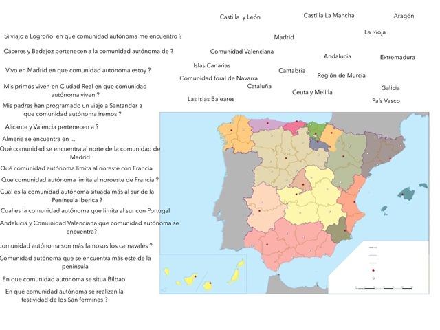 Trabajo De Comunidades Autónomas  by Celia Delgado Bermejo